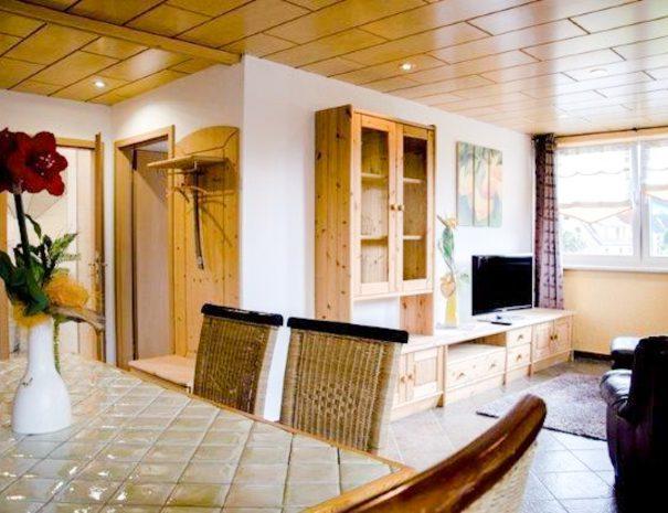 Wohnzimmer FEWO 10 Pfefferstübchen